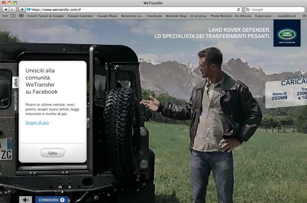 land rover native ads