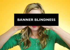 banner blindness native ads